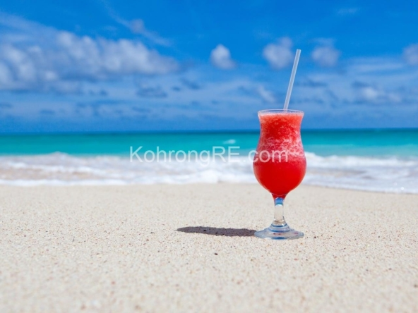 beachfront land for rent, beachfront business for sale, Saracen bay, Koh Rong Samloem, Cambodia