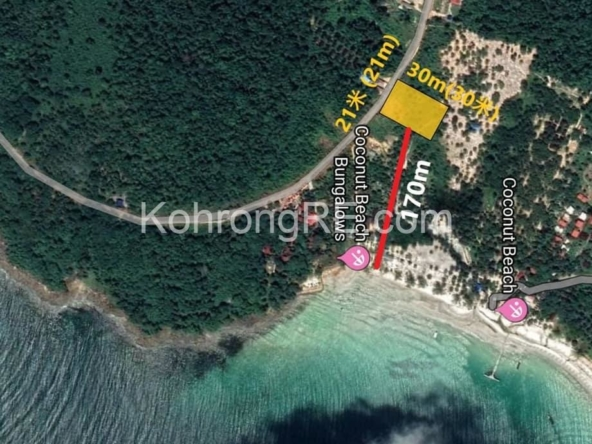 Koh Rong land for sale - near coconut beach (4)