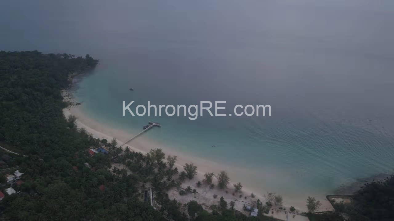 Koh Rong land for sale - near coconut beach