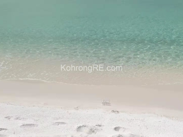 beachfront hotel for sale on Koh Rong royal beach soksan long beach