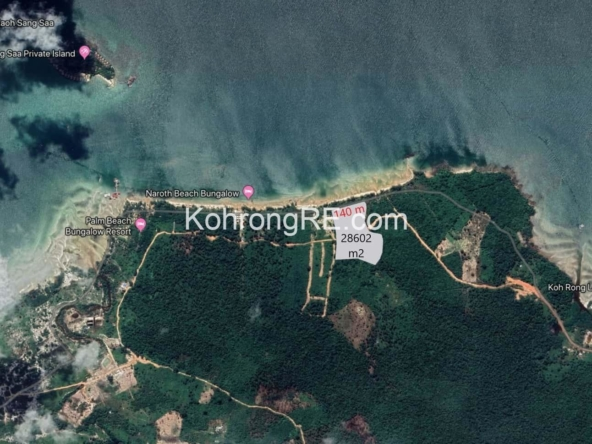 koh rong property kohrongre land for sale palm beach hard title land for rent beachfront property on cambodia islands next to song saa private island resort (5)
