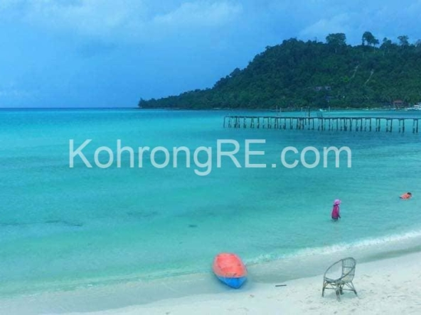 beachfront hotel for rent in Koh Rong at Royal Beach hard title (2)