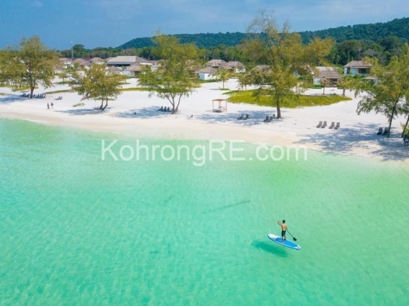 beachfront land for sale at Royal Beach in Koh Rong island, Cambodia, Hard title, white sand beach, Koh Rong property for sale, Koh Rong land for sale, Cambodia (5)