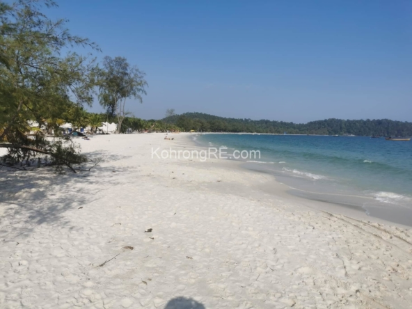 land for sale in Koh Rong near Longset Beach
