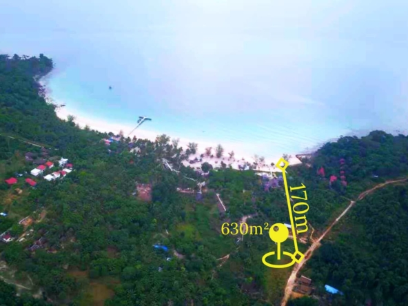 Koh Rong land for sale in Coconut Beach