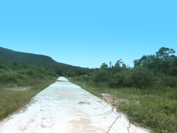 Land for sale at Sok San Beach in Koh Rong, Cambodia, hard title