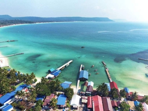 land for sale at Sok San Beach in Koh Rong island in Cambodia